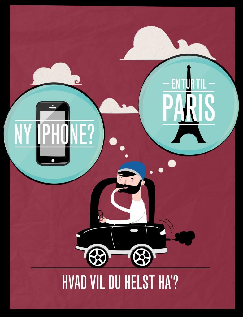 Iphone eller rejse